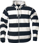 Fleece Hoodie Striped